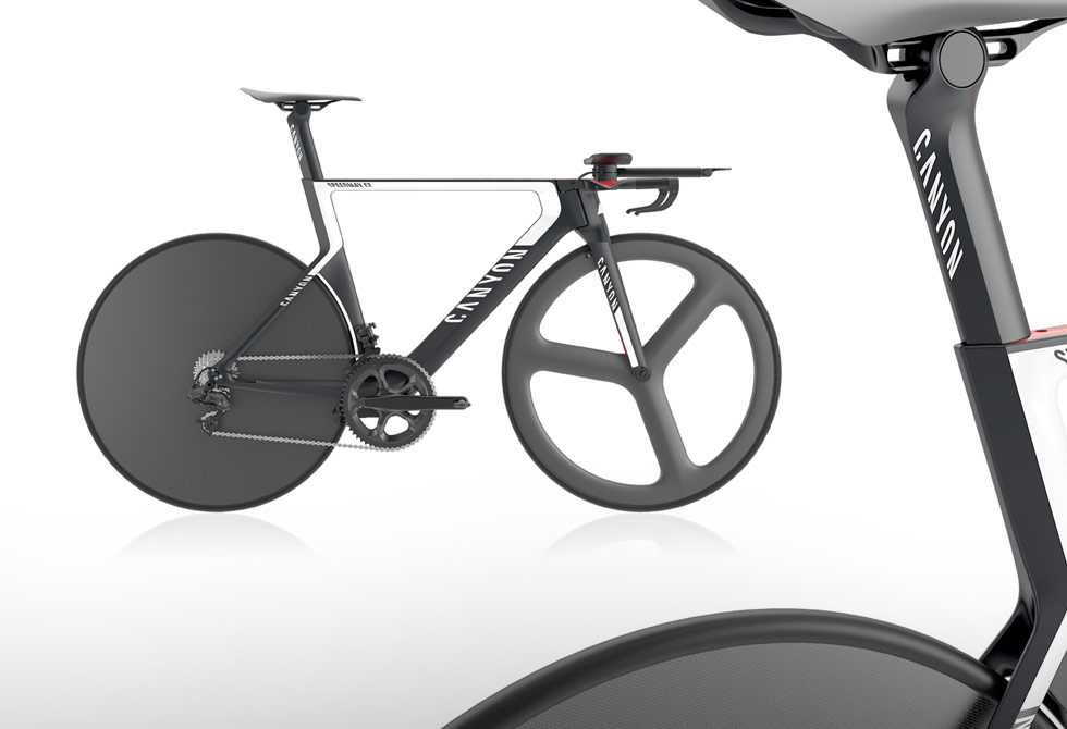 Canyon Speed Max CF Timetrail Bike Concept