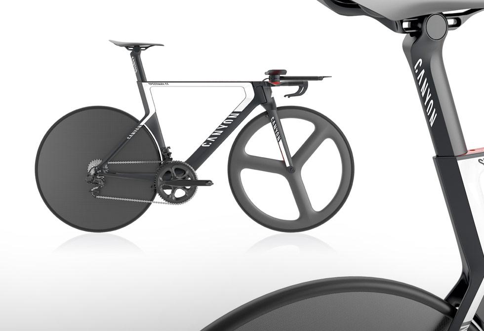 Canyon Speed Max CF Timetrail Bike Concept