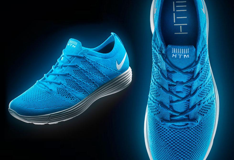 Nike Blue HTM Flyknit