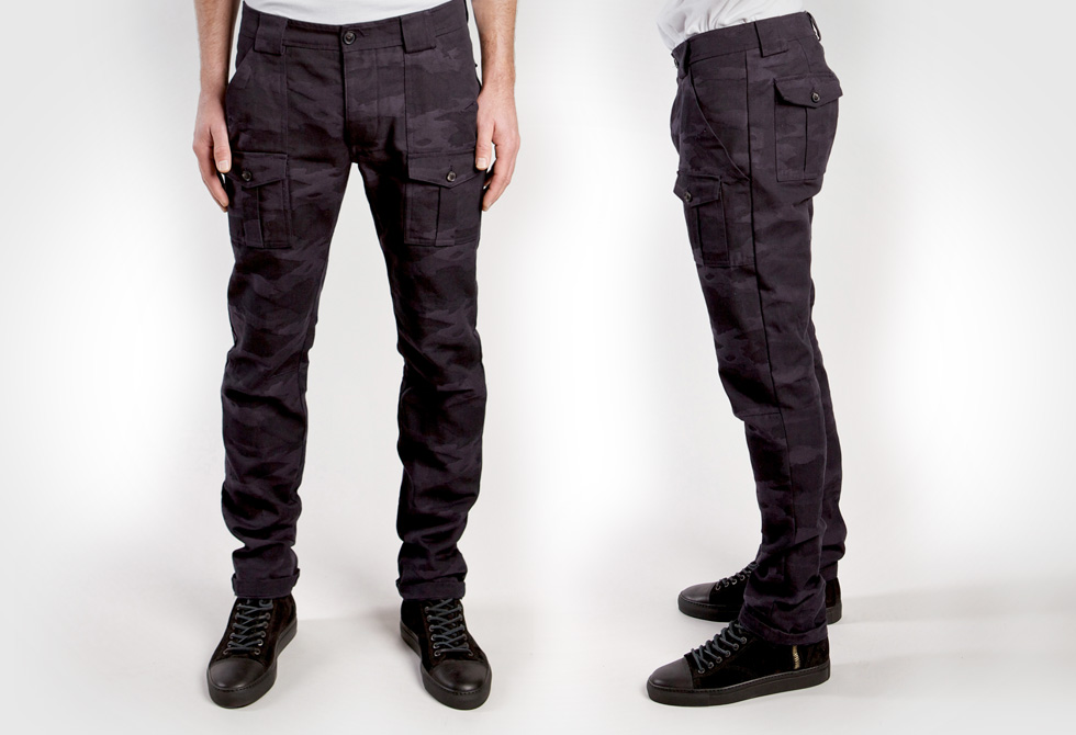 Wings plus Plus Horns Camouflage Jacquard Bush Pants