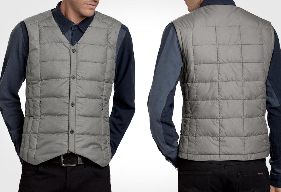 nao BYOB down vest