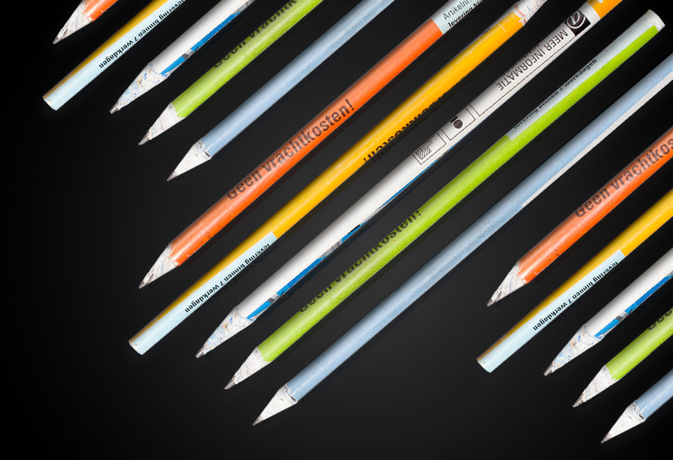 Paper Pencils by Ruben Iglesias