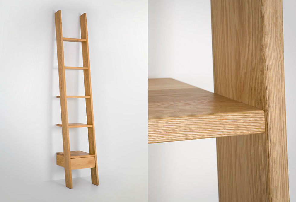 Ladder Bookcase by Autoban