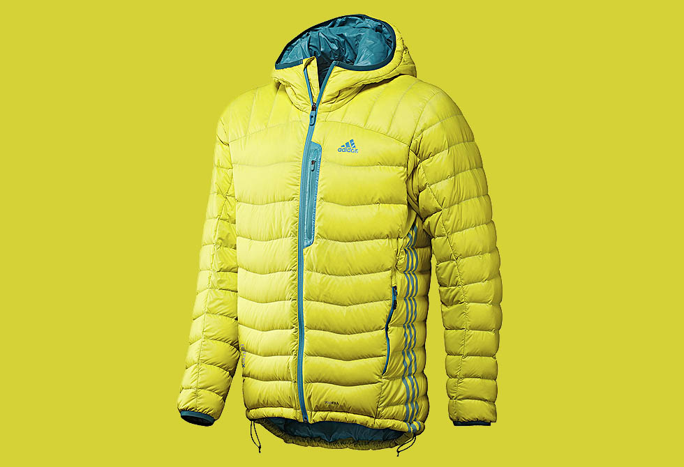 Adidas Men's Terrex Hooded Light Down Jacket