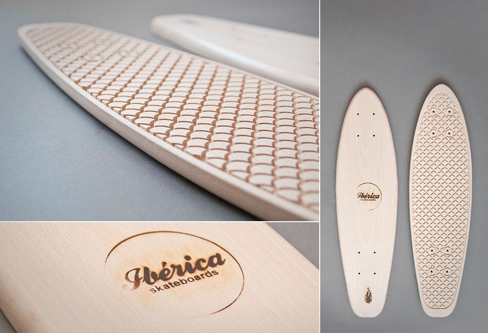Handmade Iberica Carmen Skateboard