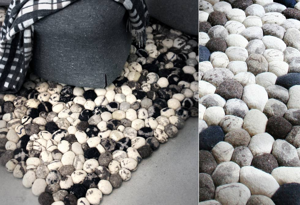 Pebble Carpet by 2Form