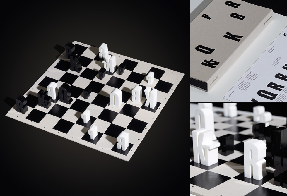 Type(chess)set by hat-trick