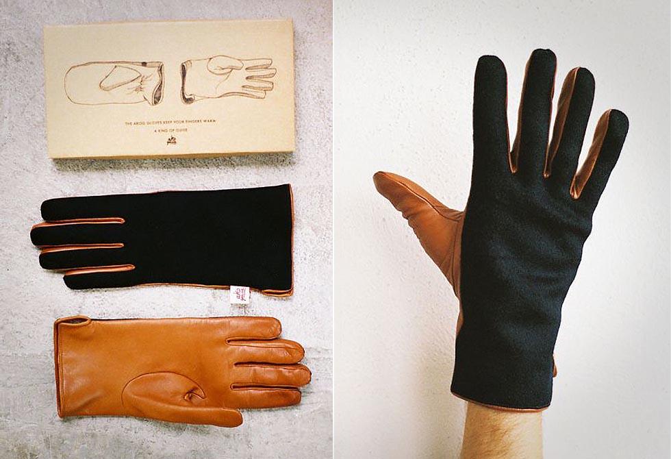 Contrast Gloves