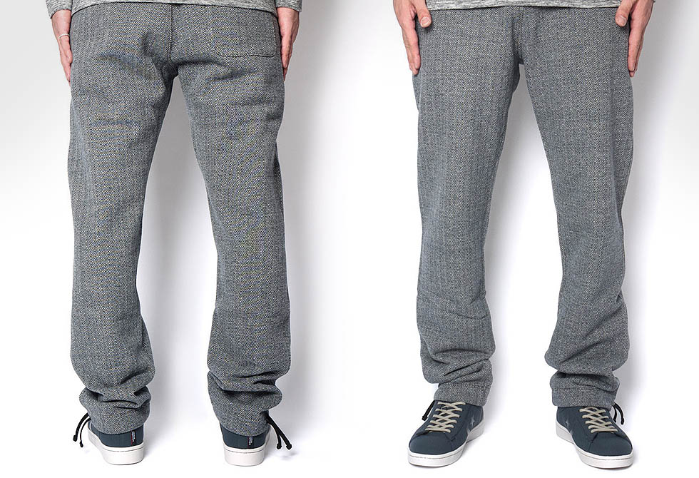 Reigning Champ Herringbone Sweat Pants