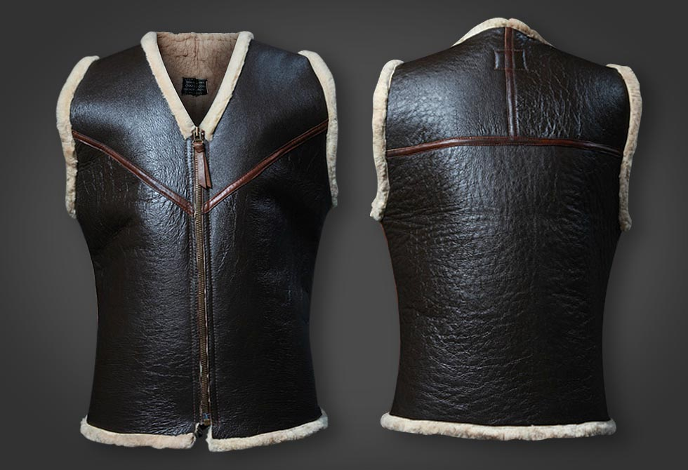 C3 Shearling Vest