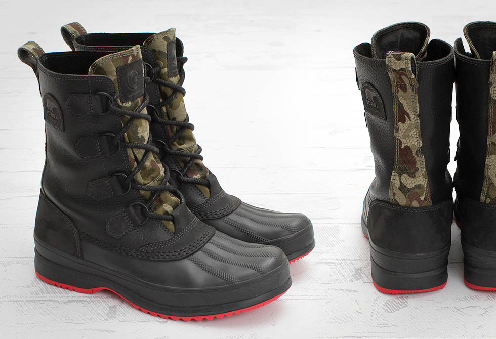 Sorel and Concepts Kitchner Boots