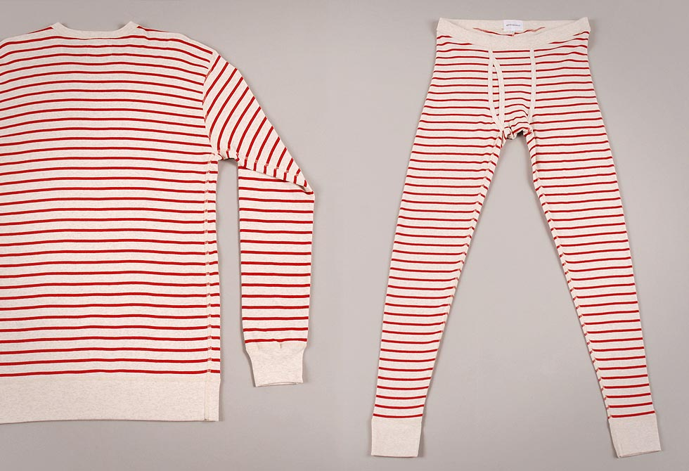 Classic Red Rib Long Johns