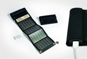 <b>Power Film USB+AA Foldable Solar Charger</b>