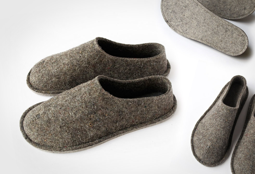 Top Felt Slippers