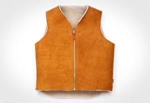 <b>Best Made Shearling Wool Vest</b>