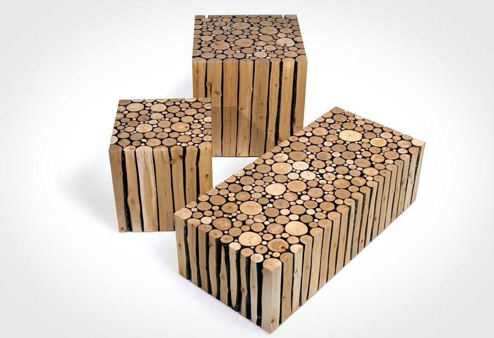 Alder Cubes by Brent Comber