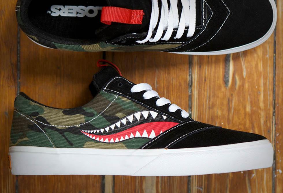 Losers Uneaker Custom Shark Shoes
