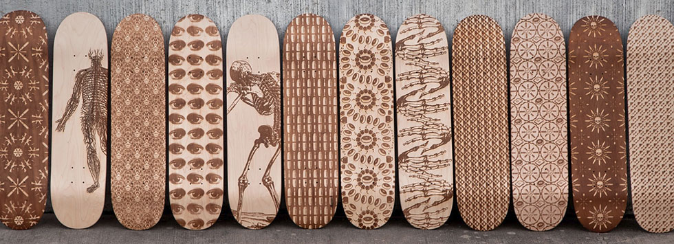 Magnetic Kitchen Skateboard Decks