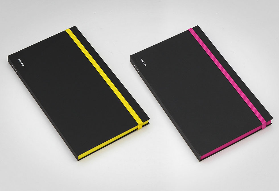Nuuna Black Punk notebooks