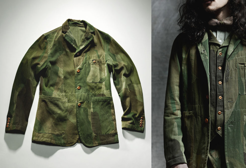 Nigel Cabourn Notch Work Jacket