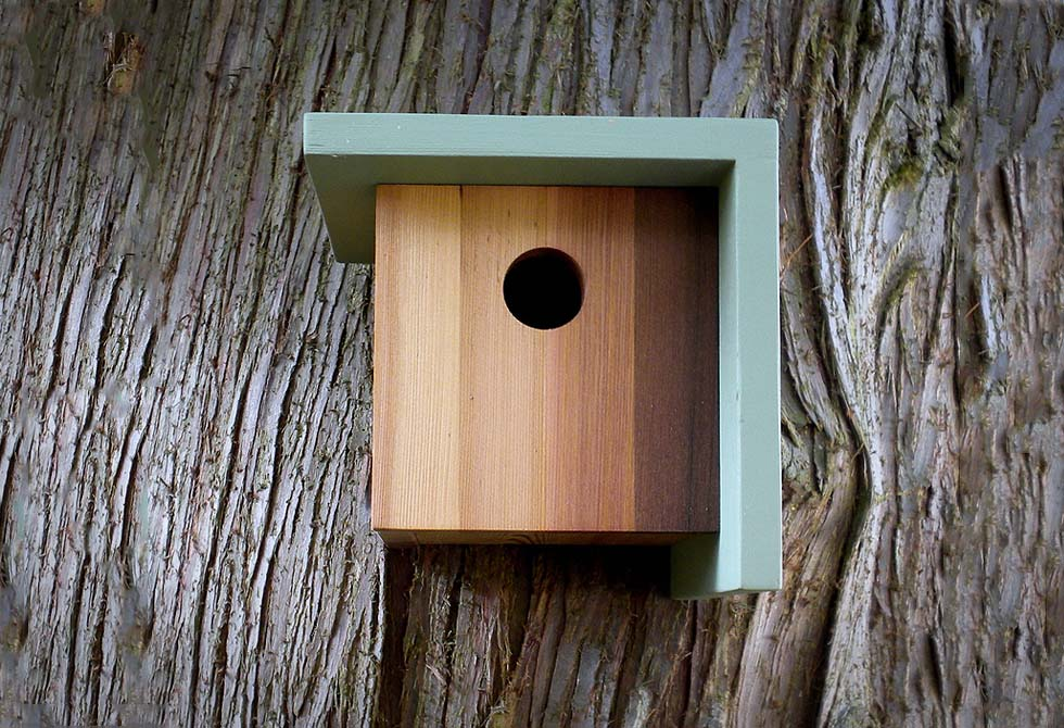 the right angle birdhouse lumberjac