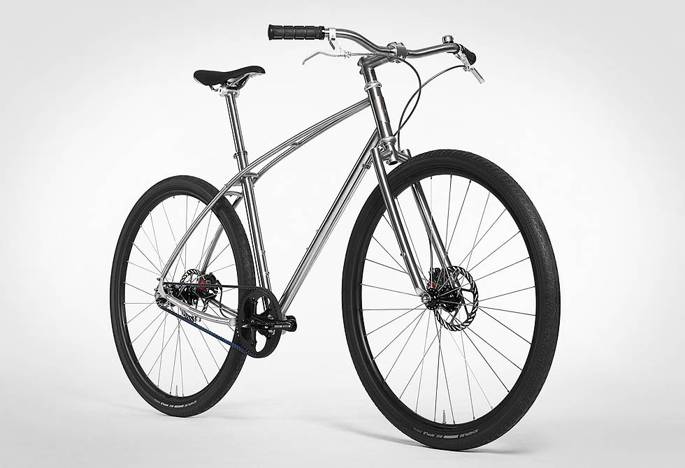 Model No.3 Titanium Commuter Bike