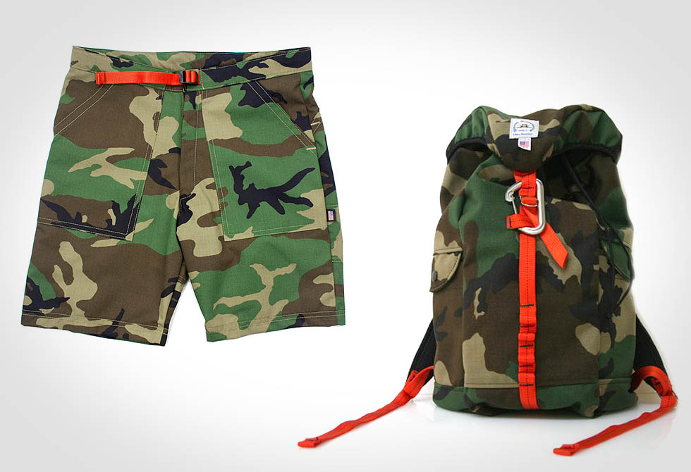 Topo Shorts and Epperson Pack Camo Combo