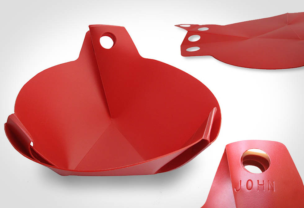 Flat Pack Bowl by Bush Smarts