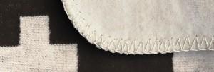 Cross Blanket Detail