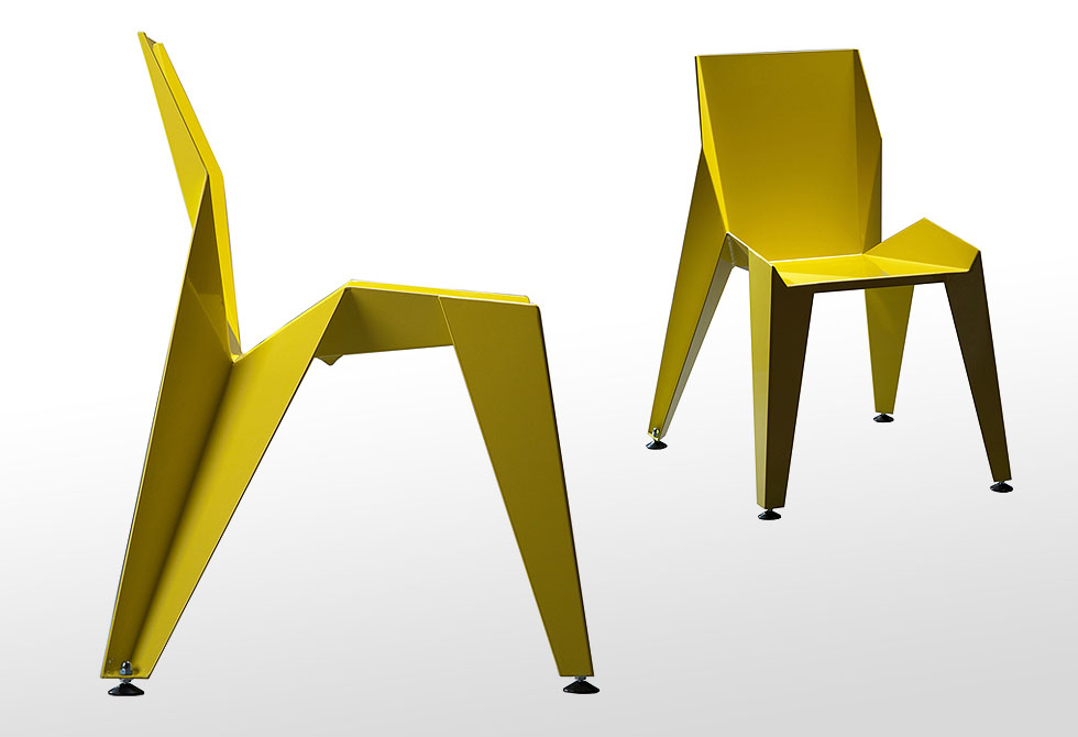 Edge Chair by Czech designer Peter Novague - lumberjac.com
