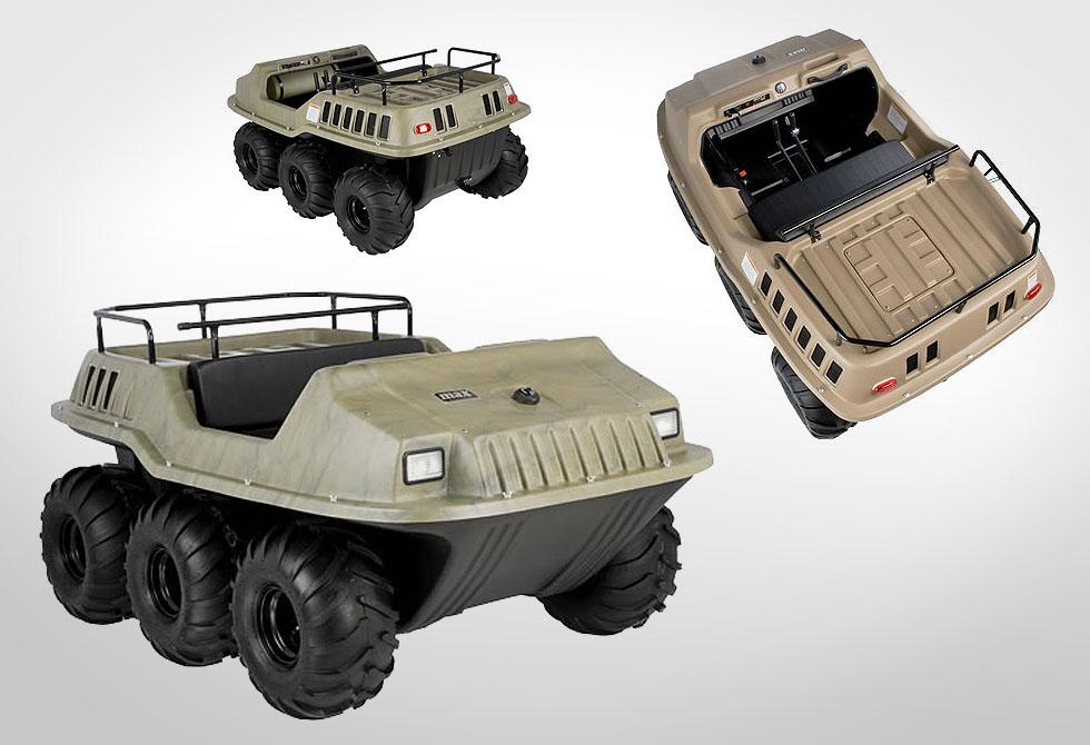 Max II amphibious ATV - lumberjac.com