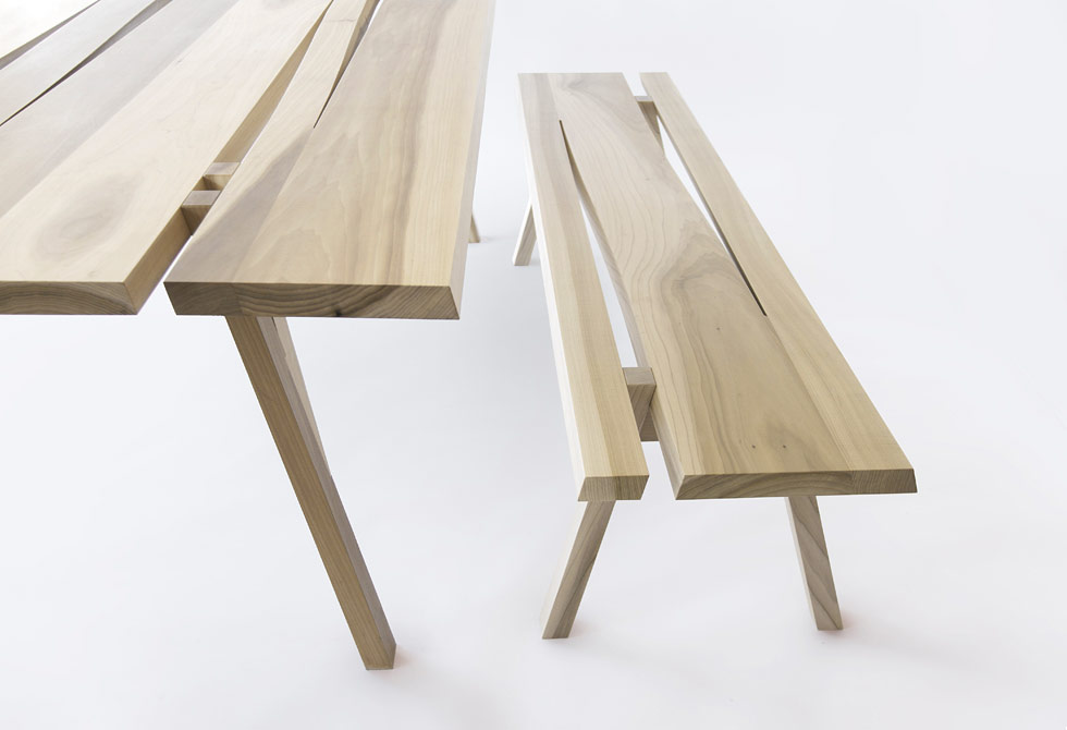 Divis Bench and Table