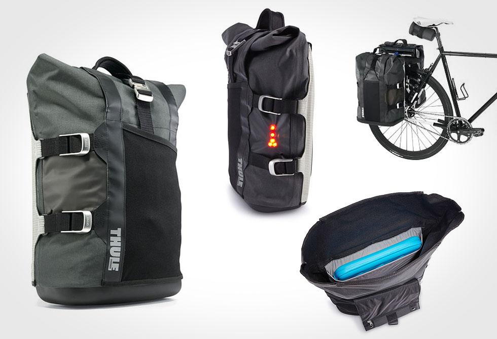 Thule Commuter Pannier Bag - lumberjac.com