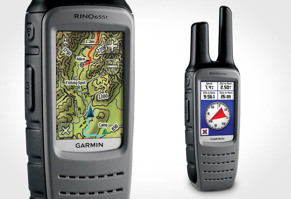 Garmin Rino 655t GPS - 2way Radio - lumberjac.com