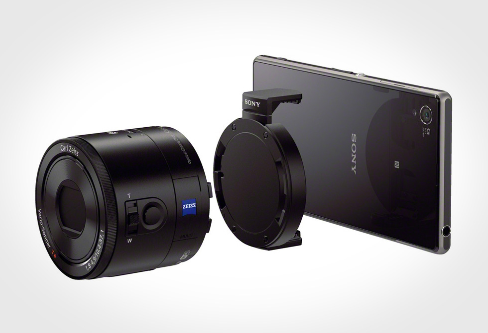 Sony QX100 Mobile Phone Lens