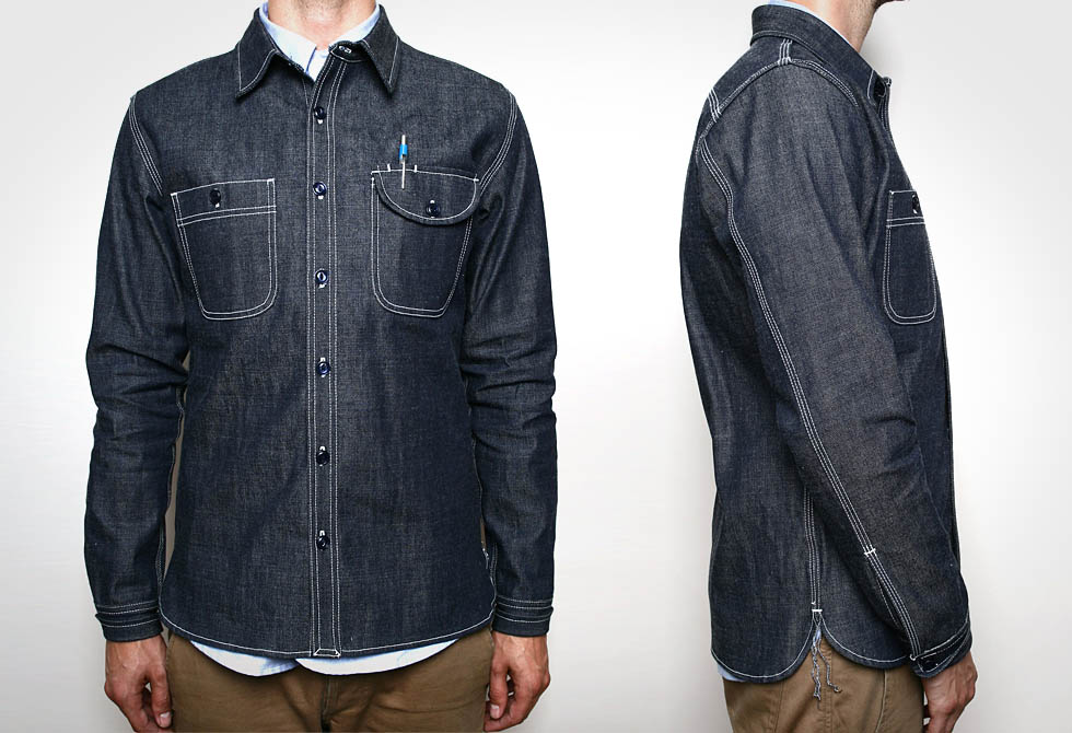 Denim Work Shirt - LumberJac
