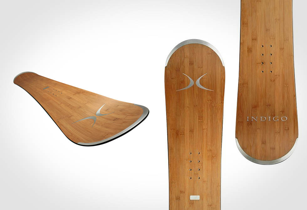 Indigo Bamboo Snowboard