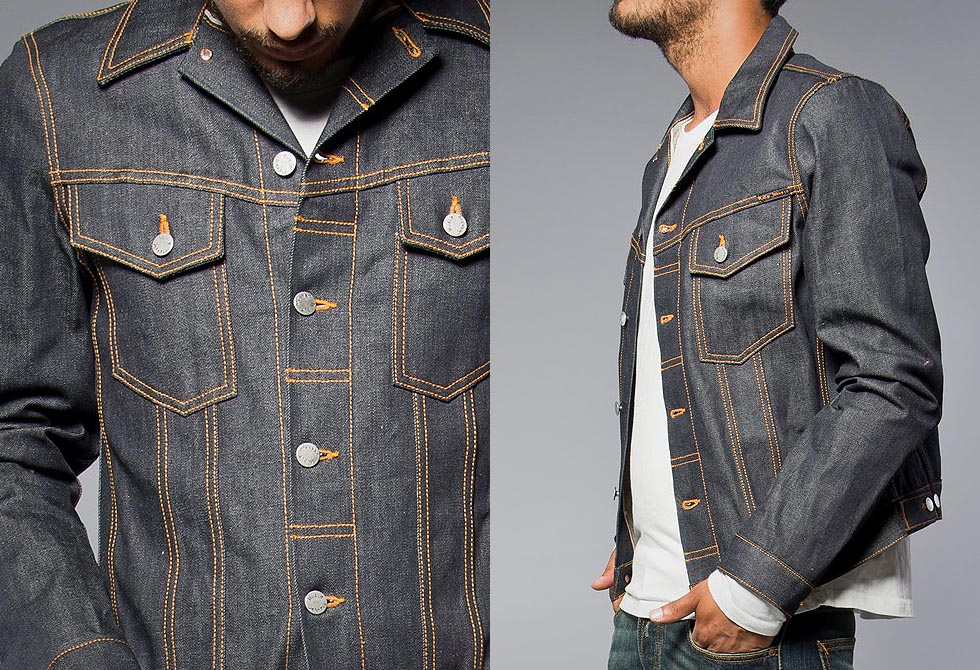 Selvage Denim Perry Jacket - LumberJac
