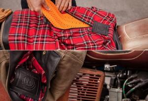 Union Garage Robinson Jacket detail - LumberJac