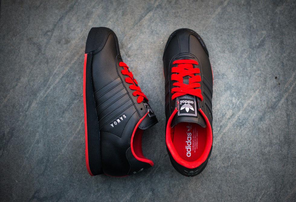 Adidas Samoa 2 - Black/Poppy - LumberJac Lumberjack