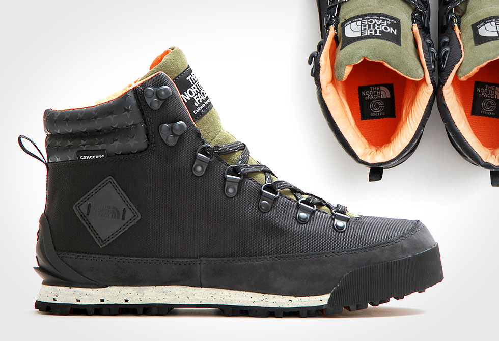 Concepts x The North Face Back-To-Berkeley Boot - LumberJac