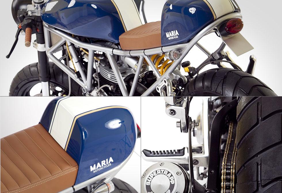 Ducati SS750 Italian Sniper detail by Maria Riding Company - LumberJac