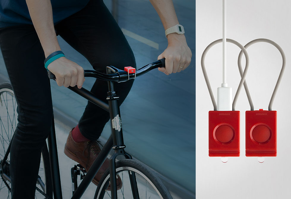 Bookman USB Bike Light - LumberJac