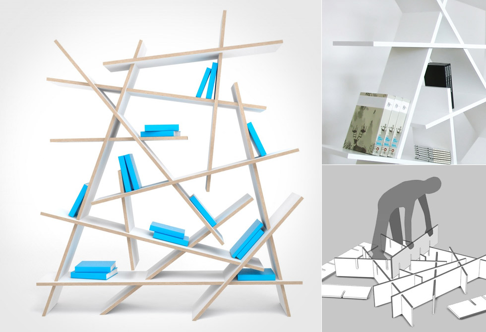 Crash Bookshelf - LumberJac