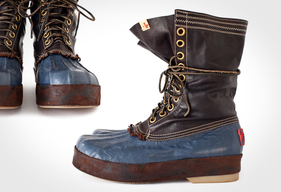 visvim Decoy Duck Boot Alu-Folk F.I.L Exclusive - LumberJac