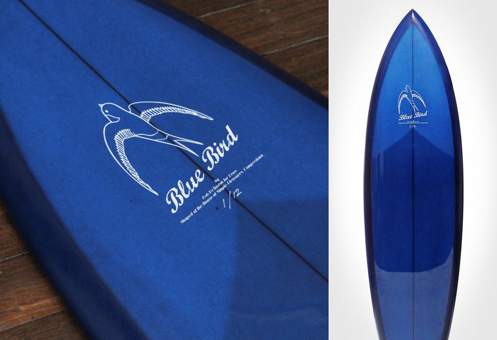 Deus McTavish Blue Bird Surfboard #4 Collection - LumberJac