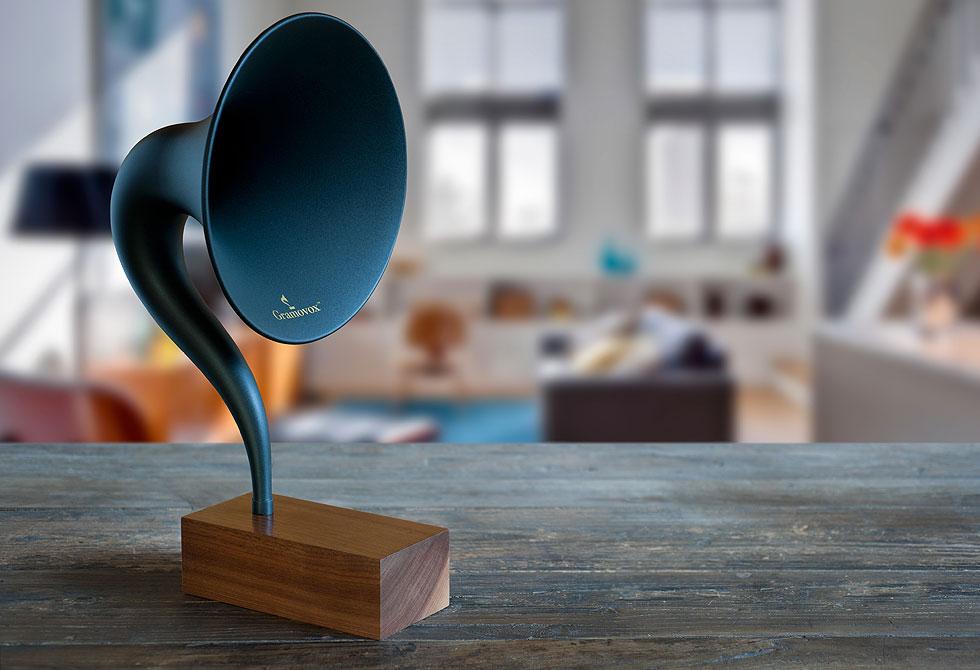 Gramovox Bluetooth Gramophone - LumberJac