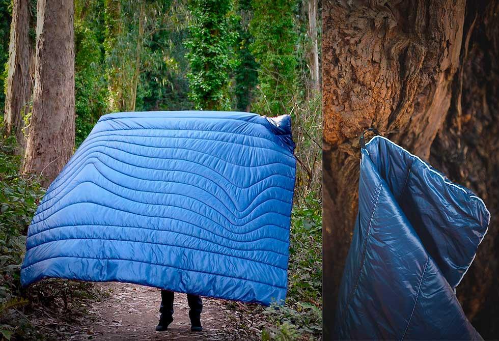 Rumpl Puffy Blanket - LumberJac