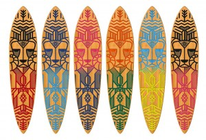 Strght skateboard Color options - LumberJac