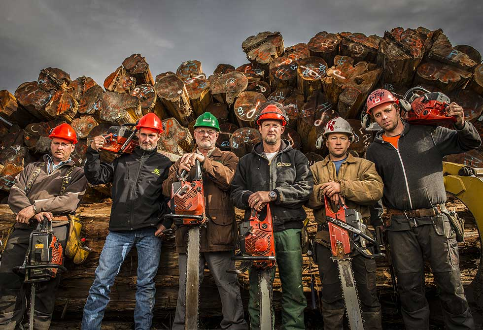 Timber Kings reality show - LumberJac